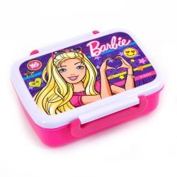Контейнер для еды Barbie 420 мл с разделителем
