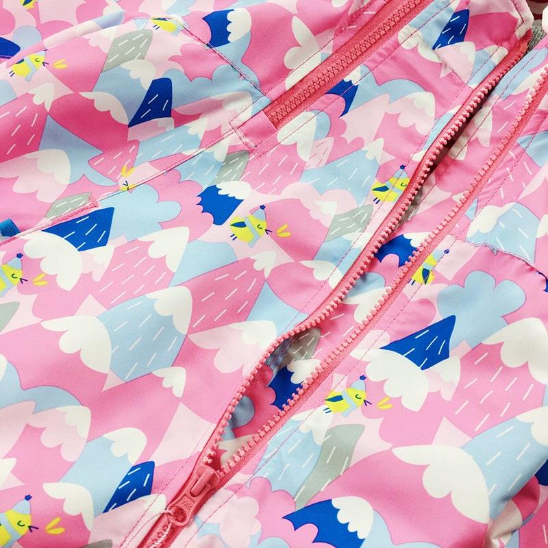Куртка для девочки Горы