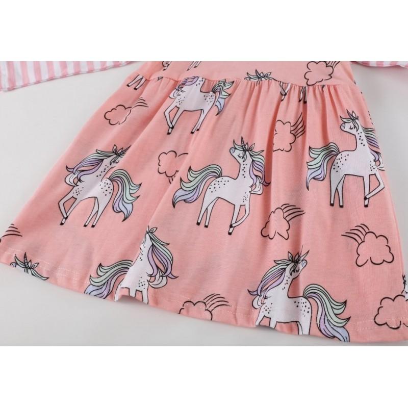 Платье для девочки Игривый единорог