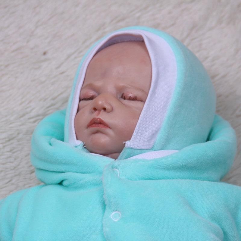 Комбинезон новорожденному ментол