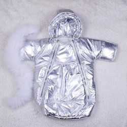 фото дитячий комбінезон-мішок зима