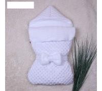Конверт-кокон Пушинка деми (белый)