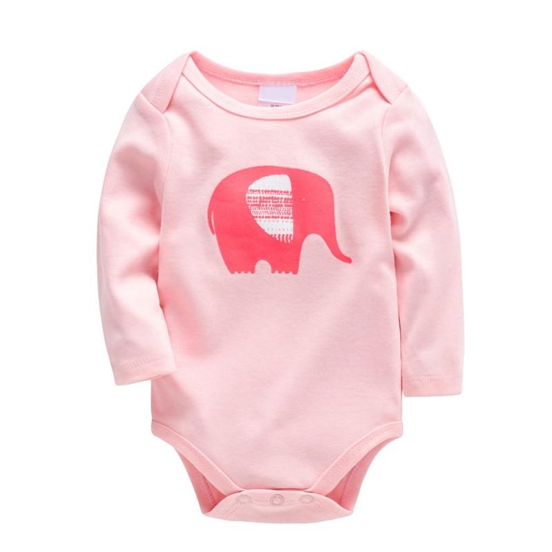 Боди для девочки Слон, розовый