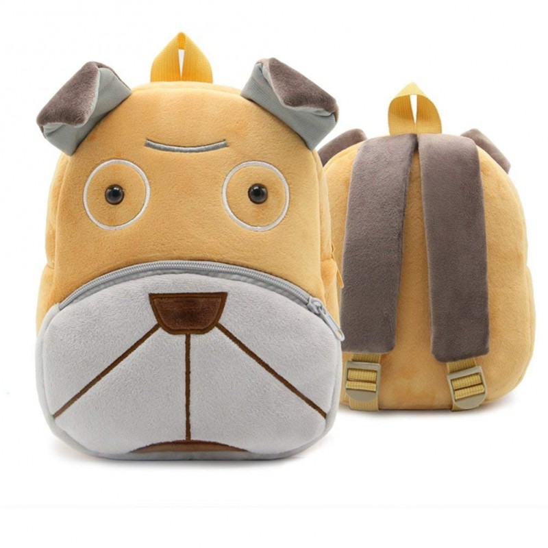 Рюкзак велюровый Пес