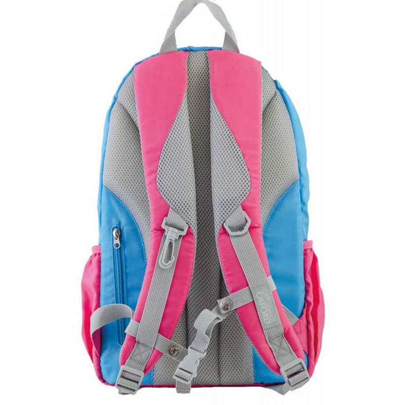 Рюкзак подростковый Yes голубо-розовый