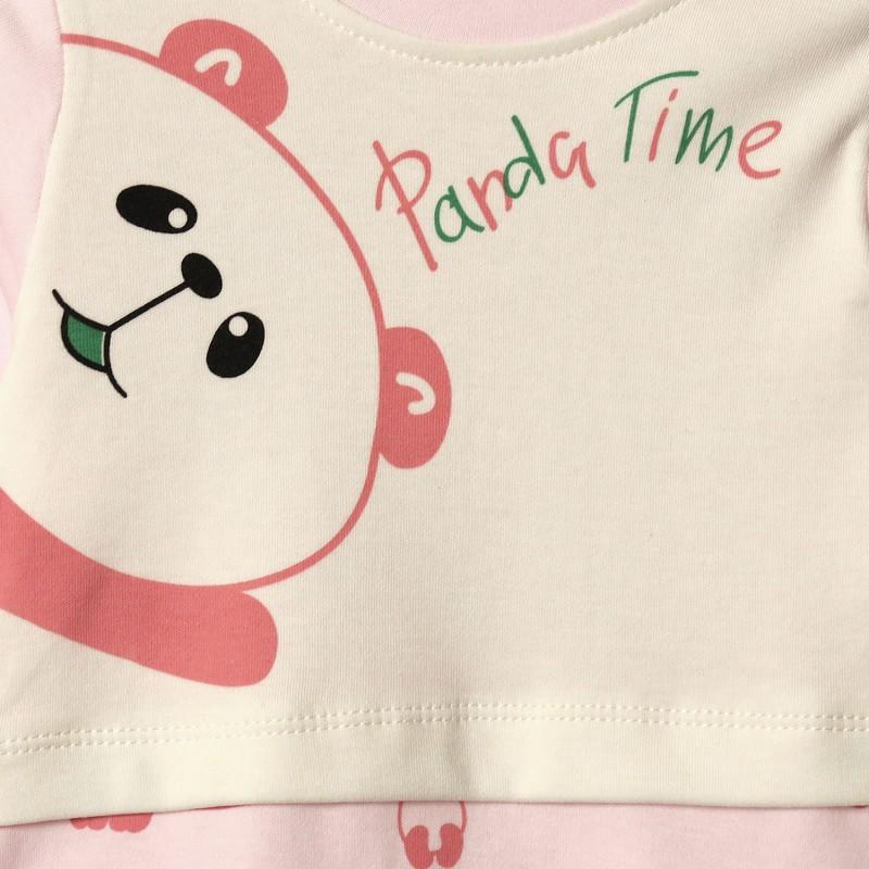 Человечек для девочки Pink panda time
