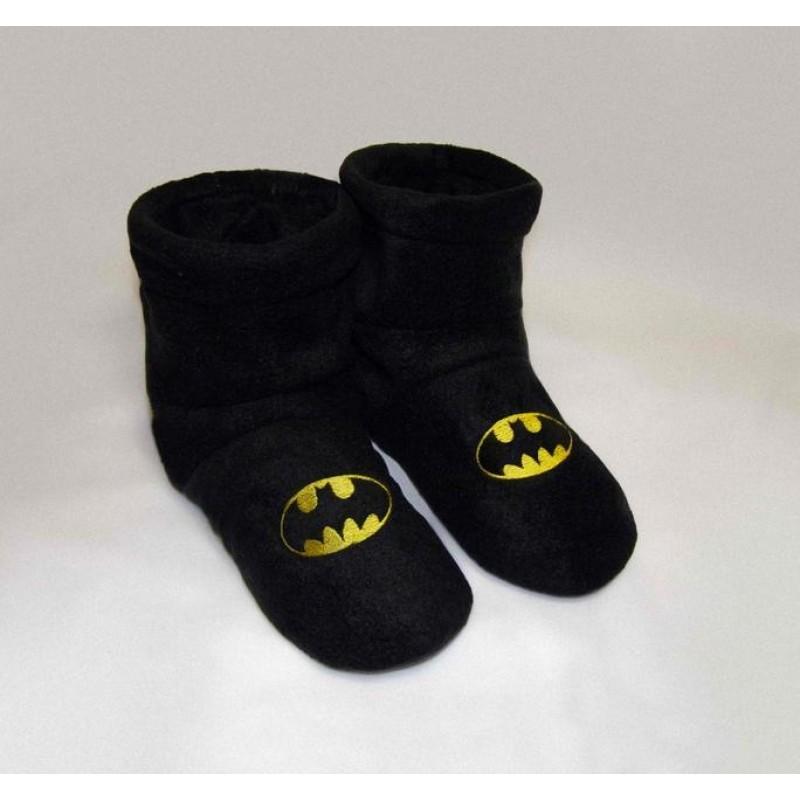 фото мужские комнатные тапочки Бетмен