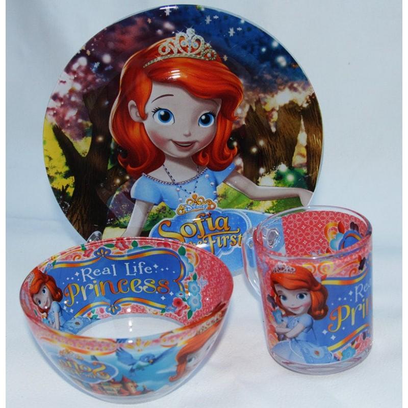 картинка Набор детской посуды SОFIA