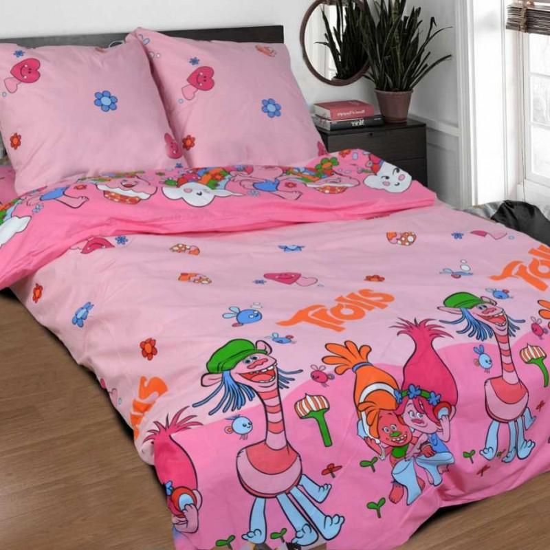 Комплект постельного белья TROLLS фото