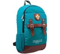 Рюкзак подростковый бирюзовый 29 * 13 * 48 см