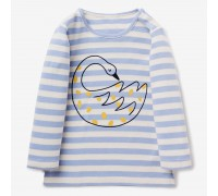 Кофта для девочки Лебедь