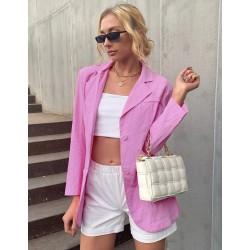 Блейзер женский с накладными карманами Glamor
