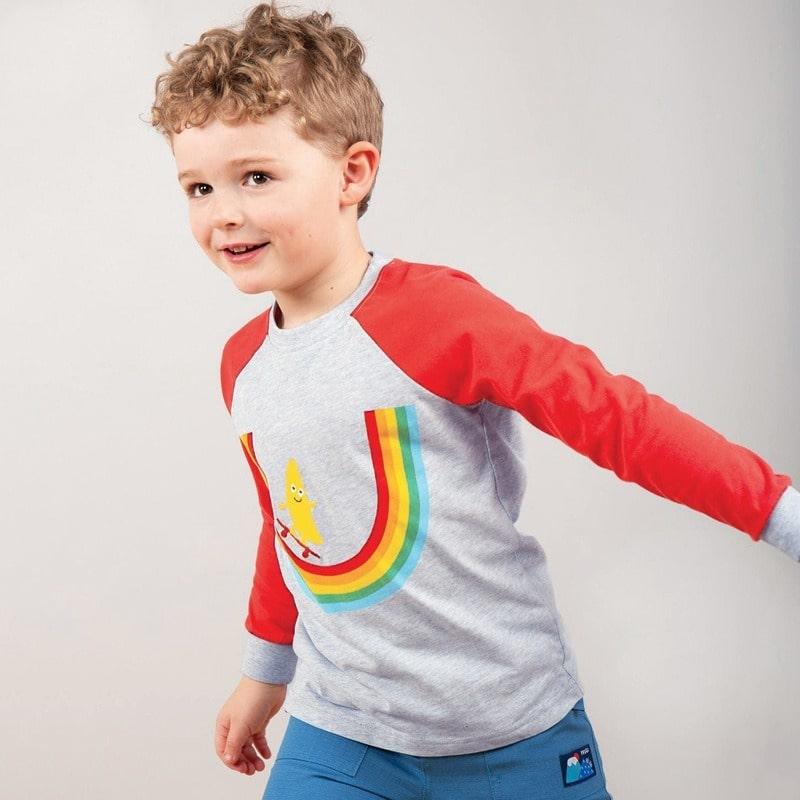 Лонгслив для мальчика Banana skater
