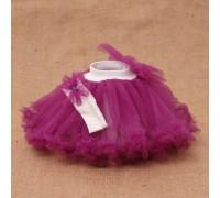 Нарядный костюм для девочки Фатин