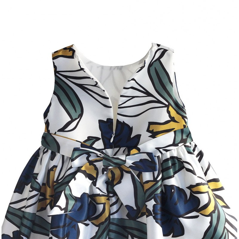 Платье для девочки нарядное Листочек