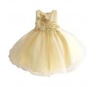Платье для девочки Золотой павлин