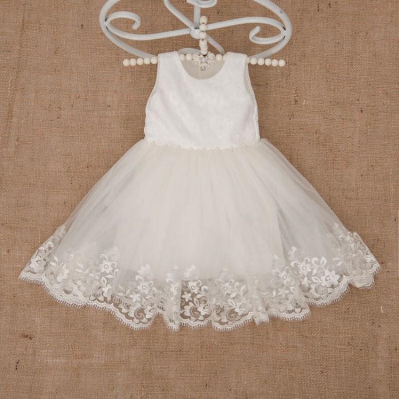 изображение Нарядное платье для девочки Лиза