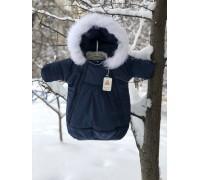 Зимний комбинезон-мешок