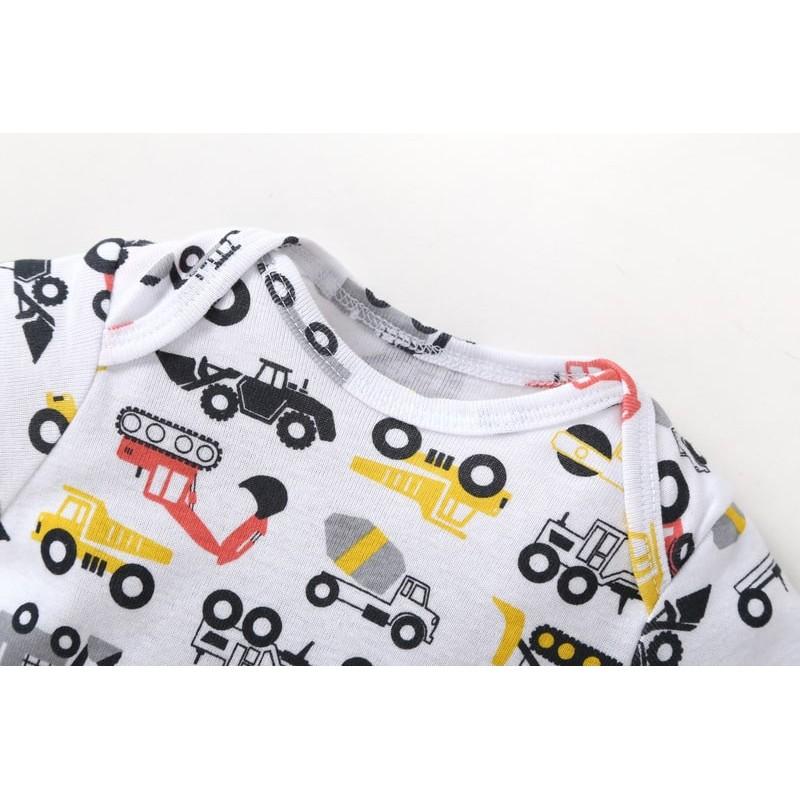 Комплект для мальчика жолтый Экскаватор