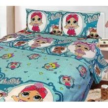 Детское постельное белье полуторка LOL Тиротекс