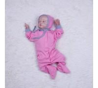 Человечек-пижамка Mini (розовый)