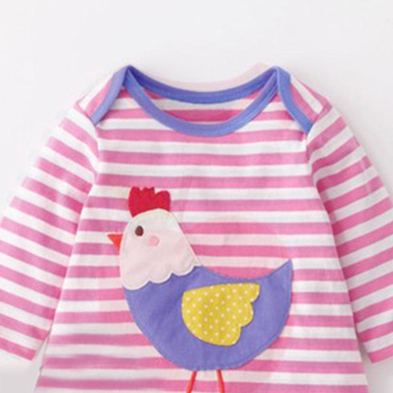 Платье для девочки Курочка