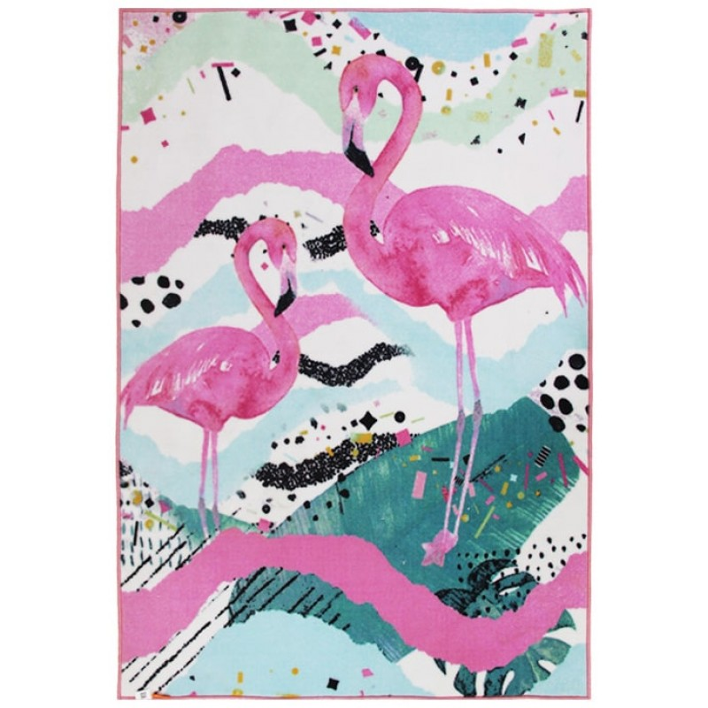 Коврик в детскую Фламинго