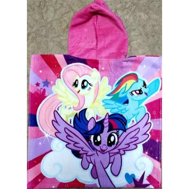 фото детское полотенце пончо для девочки Ponny