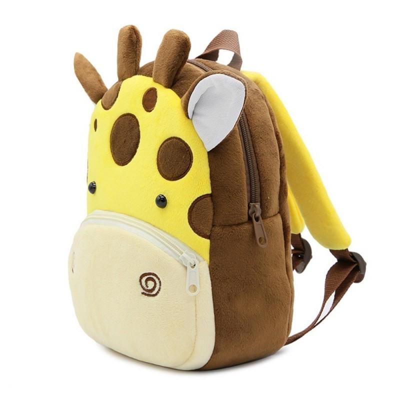 Рюкзак велюровый Жираф