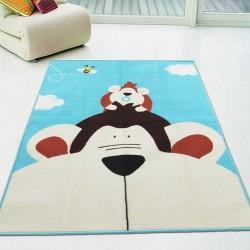 Коврик для детской комнаты Обезьяна 100 х 130 см