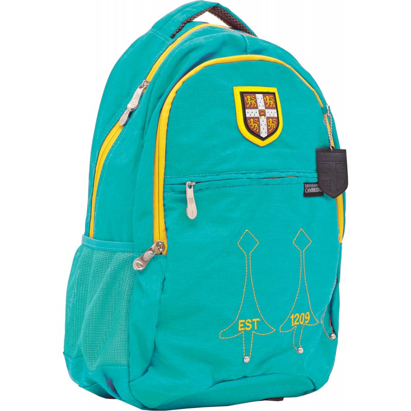 Рюкзак подростковый бирюзовый