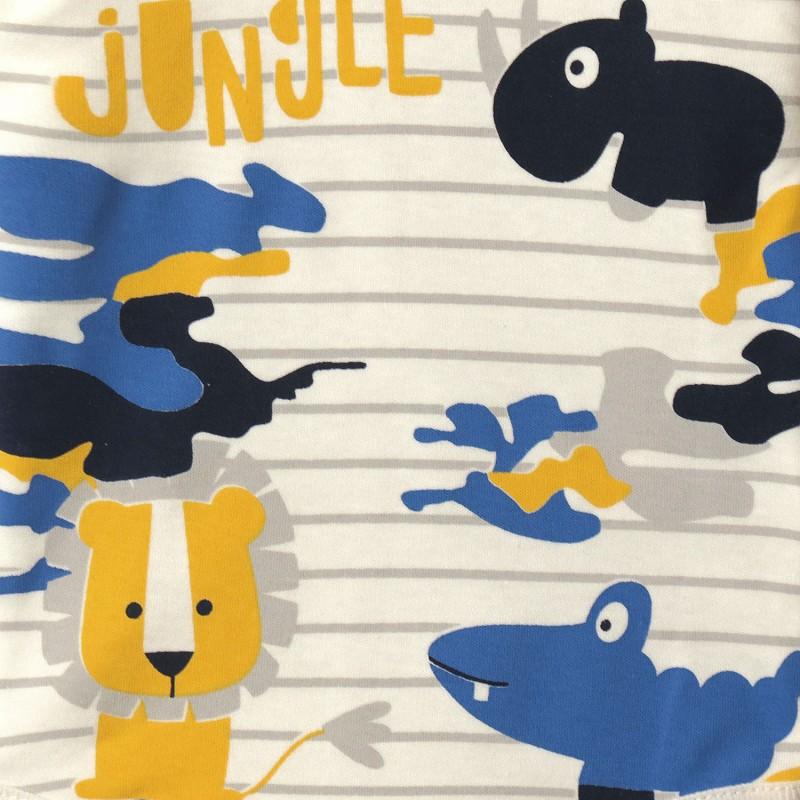 Боди детский Счастливые джунгли (2 мес)