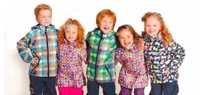 Детский гардероб на весну