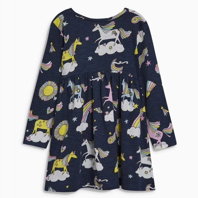 Платье для девочки Единороги