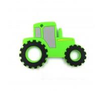 Прорезыватель Трактор, зелёный