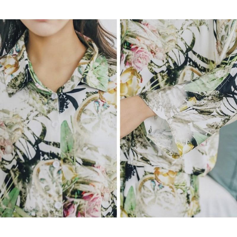 Пижама женская Plants