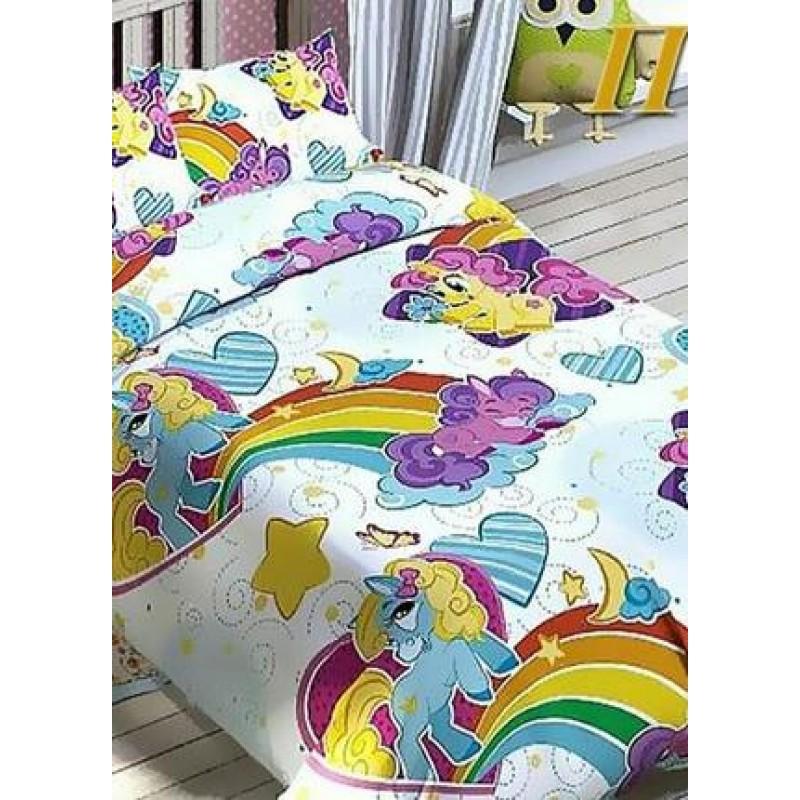 Комплект постельного белья RAINBOW PONY фото