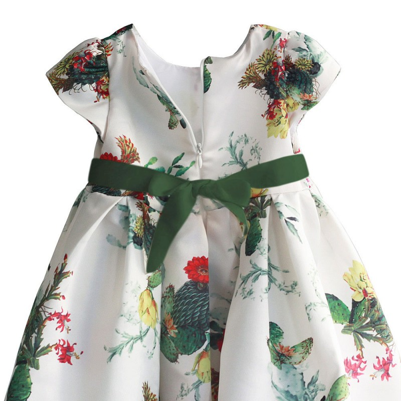 Платье для девочки Кактус