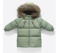 Куртка-пуховик детская, хаки