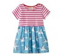 Платье для девочки Пегасы
