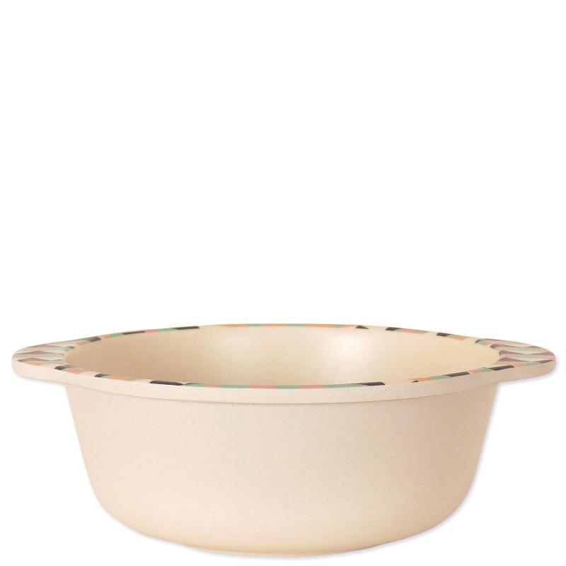 Тарелка из бамбукового волокна фото