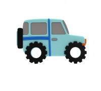 Прорезыватель Автомобиль, синий