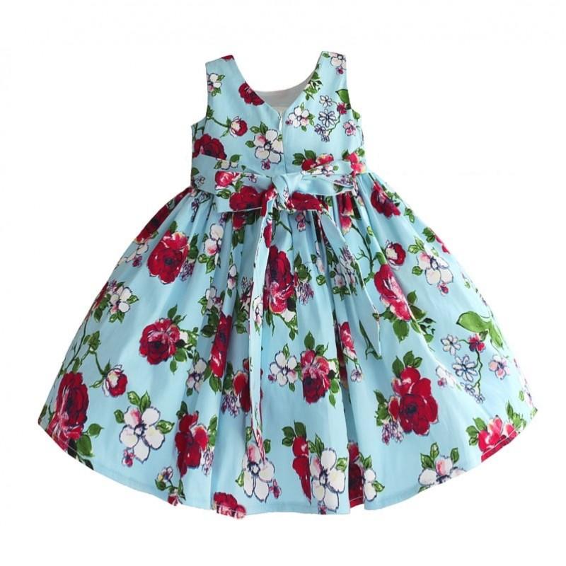 Платье для девочки Бутоны и лепестки