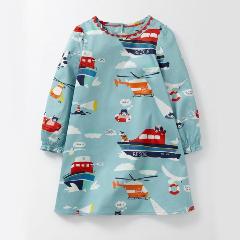 Платье для девочки Морской патруль