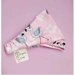 Косынка детская Фламинго фото