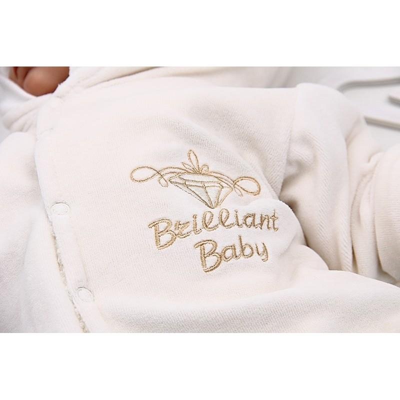 Комбинезон новорожденному айвори
