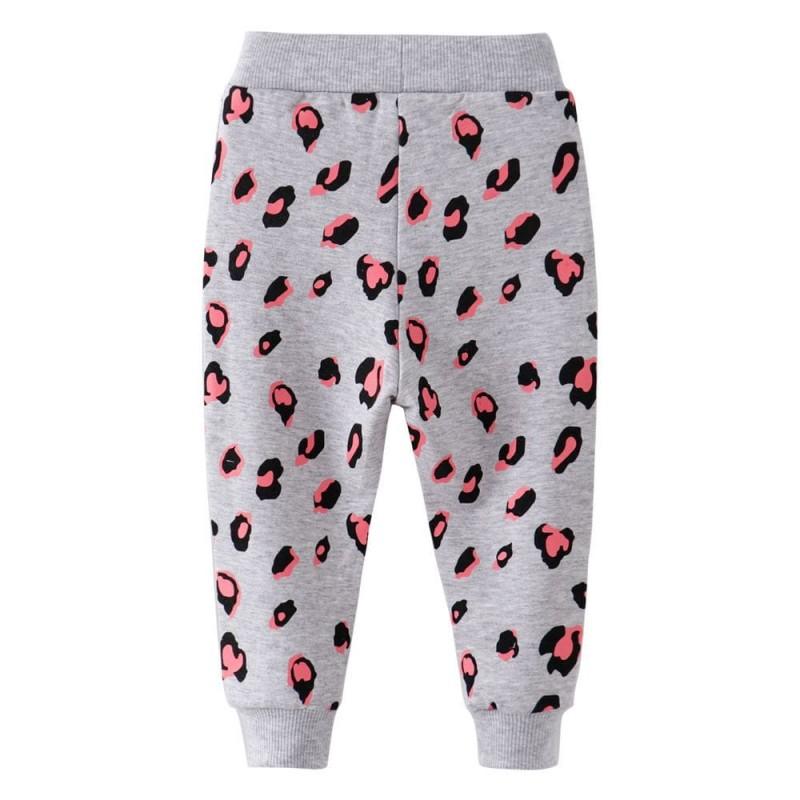 Штаны для девочки Леопардовые пятнышки