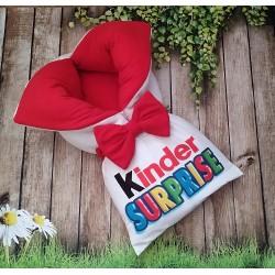 Конверт на выписку Kinder красный фото