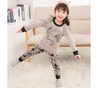 Пижама для девочки Gray unicorn