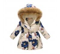 Демисезонная куртка для девочки Нежные лепестки